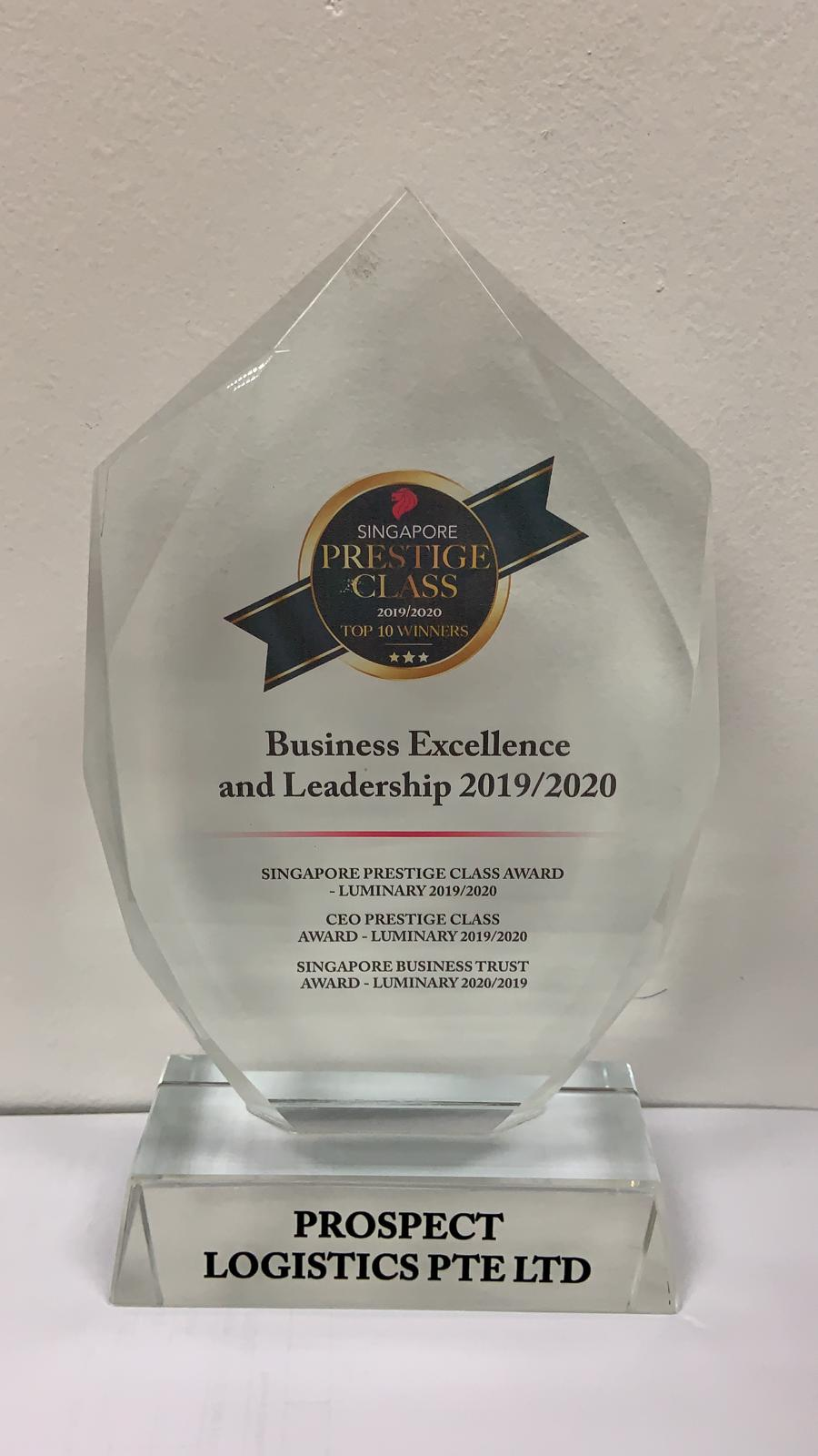 Business Exellence and Leadership Award